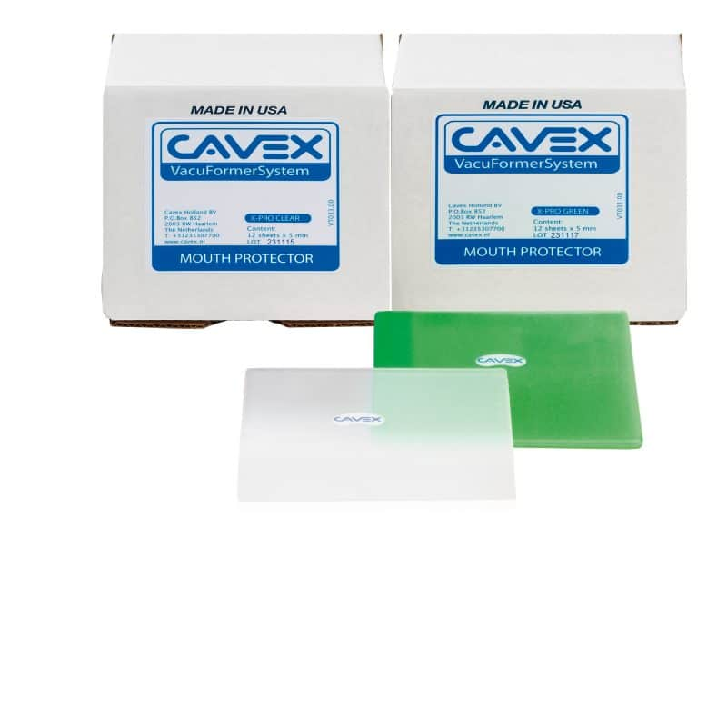 CAvex VacuFormer Mouthprotector X-Pro sheets
